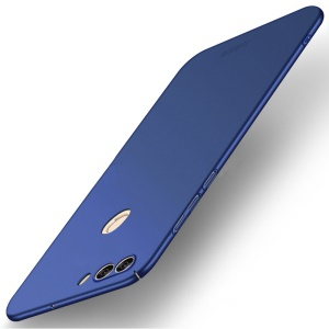 MOFI Shield Frosted Ultra-thin Plastic Phone Cover for Huawei P Smart / Enjoy 7S - Dark Blue