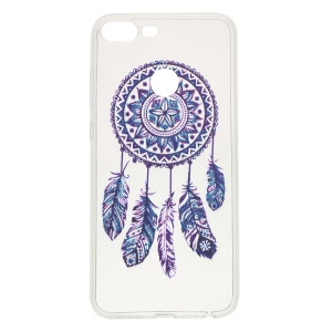 Pattern Printing Soft TPU Phone Casing for Huawei Honor 9 Lite / 9 Youth Edition - Dream Catcher