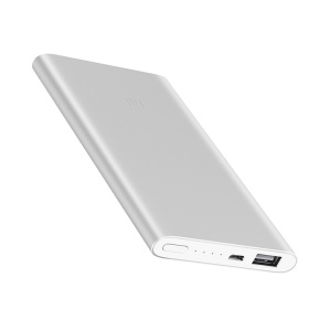 XIAOMI Mobile Power Bank 2 5000mAh Single USB Port External Battery for iPhone Samsung Xiaomi etc. - Silver