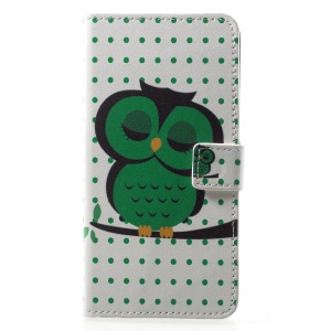 Green Napping Owl