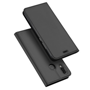 DUX DUCIS Skin Pro Series Card Holder Stand Leather Mobile Case for Huawei P20 Lite/Nova 3e (China) - Grey