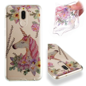 Unicorn and Flower Pattern
