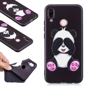 Embossment Soft TPU Lightweight Case Accessory for Huawei P20 Lite / Nova 3e (China) - Cute Panda