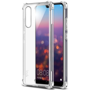 IMAK Skin Feel Anti-drop TPU Shell + Explosion-proof Screen Film for Huawei P20 Pro - Transparent