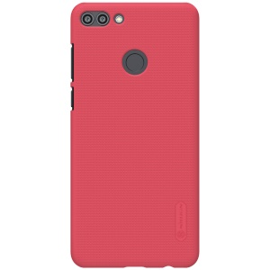 NILLKIN Super Frosted Shield Hard Cover Case for Huawei Y9 (2018) / Enjoy 8 Plus - Red