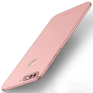 MOFI Shield Frosted Hard Plastic Shell for Huawei Enjoy 8/Honor 7C /Y7 Prime (2018) - Rose Gold