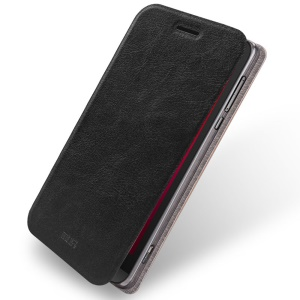 MOFI Rui Series Leather Stand Case for Asus Zenfone Zoom ZX551ML ZX550 - Black