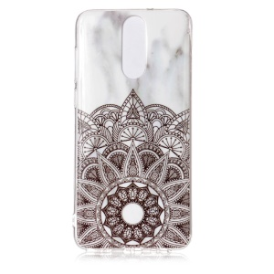 Marble Pattern IMD TPU Back Cover for Huawei Mate 10 Lite / nova 2i / Maimang 6 / Honor 9i (India) - Mandala Pattern