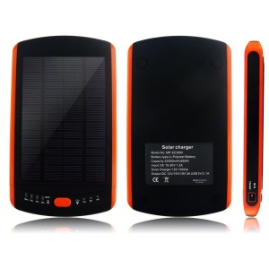 23000mAh High Capacity Solar External Power Bank 5V/12V/16V/19V for Laptops, Phones, Tablets - US Plug