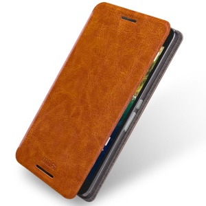 MOFI Rui Series Stand PU Leather Shell for Huawei Nexus 6P - Brown