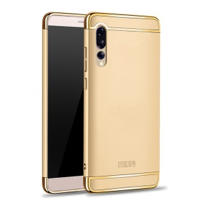 MOFI Guard Series Electroplating PC Back Cover Shell for Huawei P20 Pro - Gold