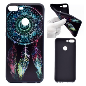 Patterned Printing Soft TPU Cell Phone Case for Huawei Honor 9 Lite/9 Youth Edition - Dream Catcher