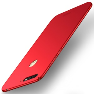 MOFI Shield Slim Frosted Hard PC Case for Huawei Honor 7A (with Fingerprint Sensor) / Enjoy 8E / Honor 7A Pro (Russian Version) - Red