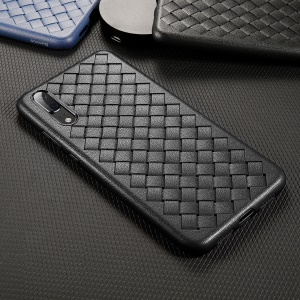 BASEUS BV Woven Texture Soft TPU Phone Casing for Huawei P20 - Black