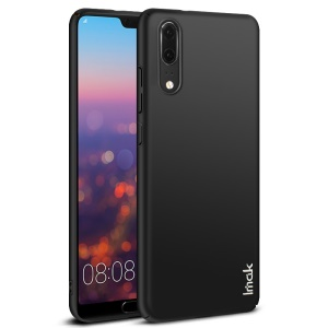 IMAK Jazz Skin Feel PC Hard Case + Screen Protector Film for Huawei P20 - Black