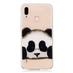 Pattern Printing TPU Soft Case for Huawei P20 Lite / Nova 3e - Panda Pattern