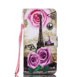 Eiffel Tower and Roses