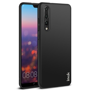 IMAK Jazz Skin Feel PC Shell + Screen Protector Film for Huawei P20 Pro - Black