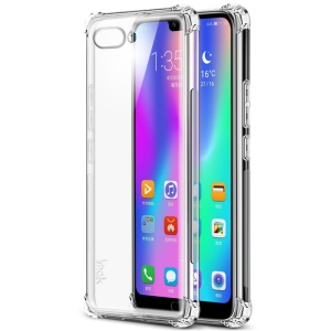 IMAK for Huawei Honor 10 Skin Feel Anti-drop TPU Shell + Explosion-proof Screen Film - Transparent