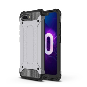 Armor Guard Plastic + TPU Hybrid Phone Case for Huawei Honor 10 - Grey