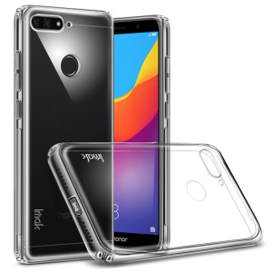 IMAK Anti-drop TPU Back Case + Screen Protector for Huawei Honor 7A/Honor 7A Pro/Y6 (2018)/Enjoy 8E