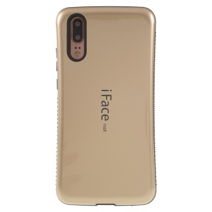 IFACE MALL PC + TPU Combo Cover Case for Huawei P20 - Gold