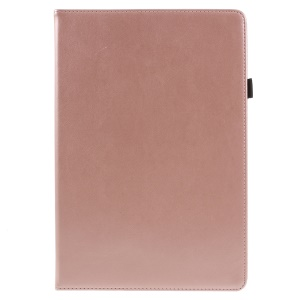 PU Leather Stand Card Holder Flip Case with Hand Strap for Huawei MediaPad M5 10 / M5 10 (Pro) - Rose Gold