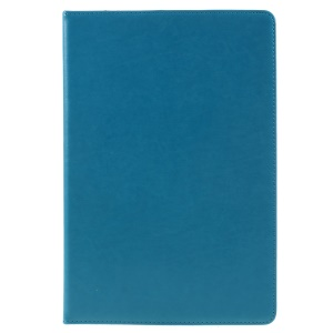 PU Leather Stand Card Holder Mobile Cover with Hand Strap for Huawei MediaPad M5 10 / M5 10 (Pro) - Blue
