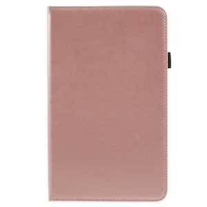 PU Leather Stand Card Slots Flip Case with Hand Strap for Huawei MediaPad M5 8 (8.4-inch) - Rose Gold