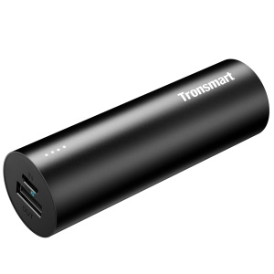 TRONSMART PB5 Bolt Lipstick Tube Shape 5000mAh 2.1A Single USB Port Portable Power Bank