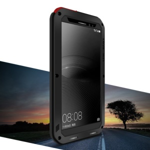 LOVE MEI Shockproof Dropproof Dustproof Case for Huawei Mate 8 / Ascend Mate8 - Black