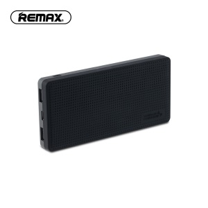 REMAX RPP-103 Qi Wireless Charger Mat 10000mAh Power Bank for iPhone 8/Samsung Galaxy S8 etc. - Black