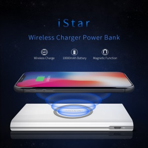 NILLKIN iStar Wireless Charger 10000mAh Power Bank Type-C Input/Output Portable Battery Charger