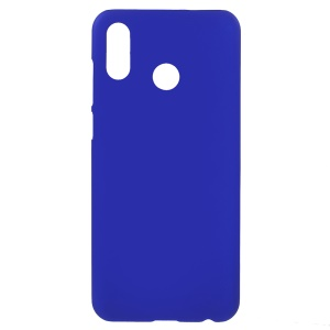 Rubberized Plastic Hard Phone Casing Accessory for Huawei Honor Play - Dark Blue