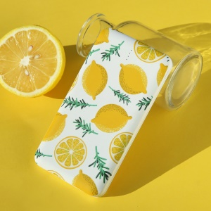 USAMS US-CD58 Fruits Series 10000mAh Dual USB Power Bank - Yellow Lemon