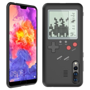 VC-061 Creative Gaming Shell PC TPU Protection Mobile Phone Case for Huawei P20 Pro - Black