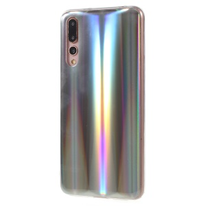 Colorful Laser Carving IMD Soft TPU Casing for Huawei P20 Pro - Aurora
