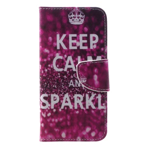 Quote Keep Calm and Sparkle