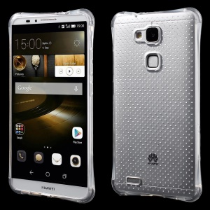 Air Cushion Drop-resistant Soft TPU Clear Cover for Huawei Ascend Mate7