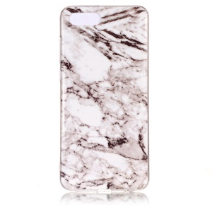 Pattern Printing IMD TPU Cover Casing for Huawei Y5 (2018) / Y5 Prime (2018) / Honor 7s / Play 7 - Grey Marble