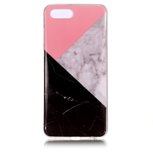 Pattern Printing IMD TPU Mobile Case for Huawei Y5 (2018) / Y5 Prime (2018) / Honor 7s / Play 7 - Splicing Marble Pattern