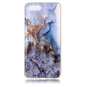 Pattern Printing IMD TPU Protective Shell for Huawei Y5 (2018) / Y5 Prime (2018) / Honor 7s / Play 7 - Lava Pattern