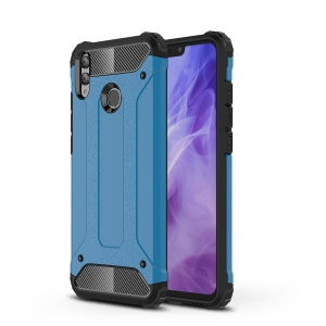 Heavy Duty Rugged Hybrid Mobile Phone Shell (Plastic + TPU) for Huawei Honor 8X - Baby Blue