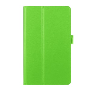 Lychee Skin Leather Case Cover for Huawei MediaPad M2 8.0 - Green