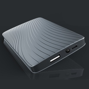 JOYROOM JR-D113 10000mAh External Power Bank with LED Flashlight - Grey
