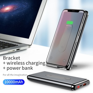 BASEUS BS-10KPW02 10000mAh Type-C PD+QC3.0 Qi Fast Charging Pad - Black