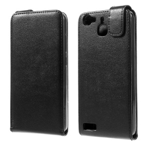 Vertical Flip Leather Case Cover for Huawei Enjoy 5s / GR3