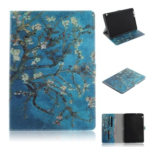 Pattern Printing [Stand Wallet] Smart Leather Case for Huawei MediaPad T3 10 - Wintersweet