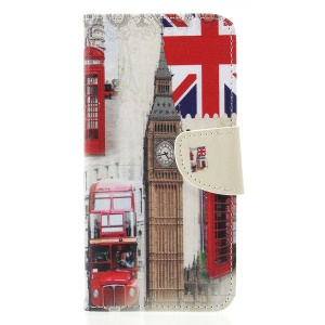 Big Ben and UK Flag