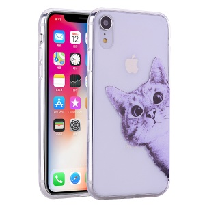 Pattern Printing TPU Case for iPhone XR 6.1 inch - Cat